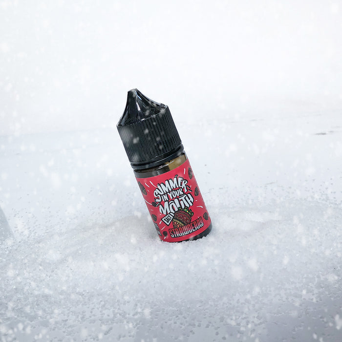 SIYM (Summer in Your Mouth) SALT E-LIQUID - STRAWBERRY 30ML - THE VAPE SITE