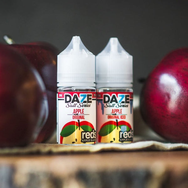 7 DAZE - REDS APPLE SALT SERIES - REDS APPLE 30ML - THE VAPE SITE