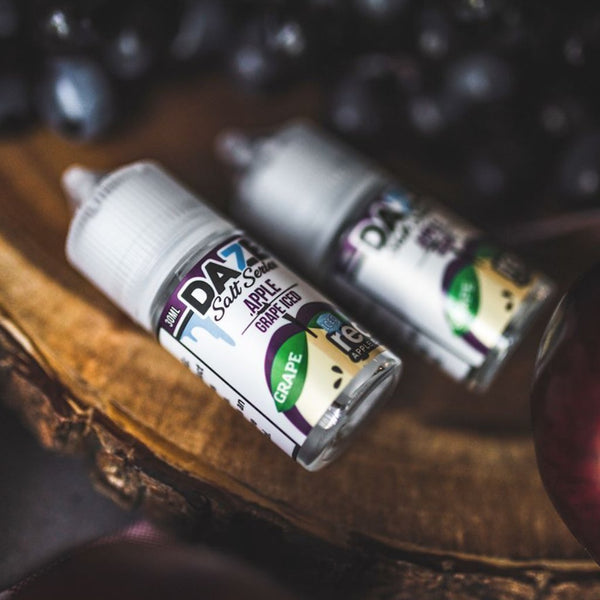 7 DAZE - REDS APPLE SALT SERIES - GRAPE ICED 30ML - THE VAPE SITE