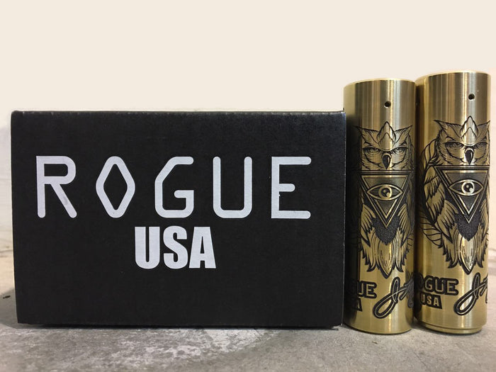 Rogue--- Three Eyes Owl by J. MARK DESIGNS - THE VAPE SITE