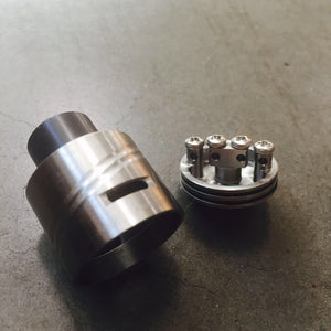 PLMVL 2.6 RDA BOTTLE ROCKET BY AETHERTECH - THE VAPE SITE