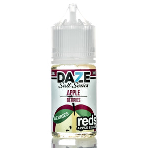 7 DAZE - REDS APPLE SALT SERIES - BERRIES 30ML - THE VAPE SITE