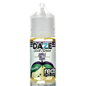 7 DAZE - REDS APPLE SALT SERIES - GRAPE 30ML - THE VAPE SITE