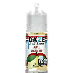 7 DAZE - REDS APPLE SALT SERIES - REDS APPLE ICED 30ML - THE VAPE SITE