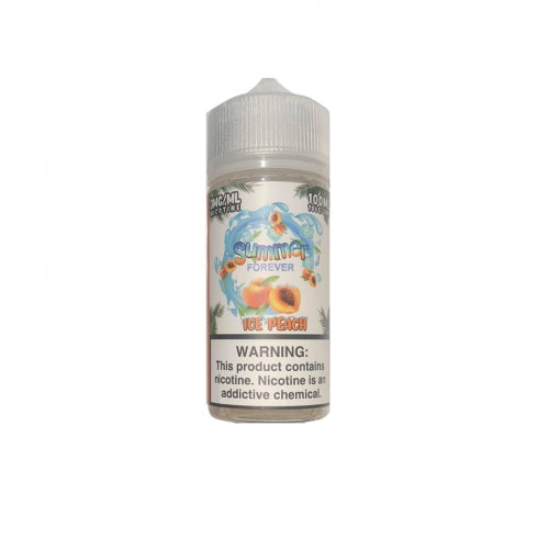 SUMMER FOREVER E-LIQUID - ICE PEACH 100ML