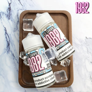 1982 ICED GRAPE E-LIQUID (100ML)