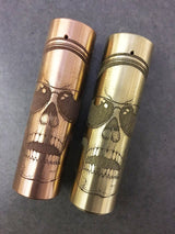 Rogue--- Gangster Skull  by J. MARK DESIGNS - THE VAPE SITE