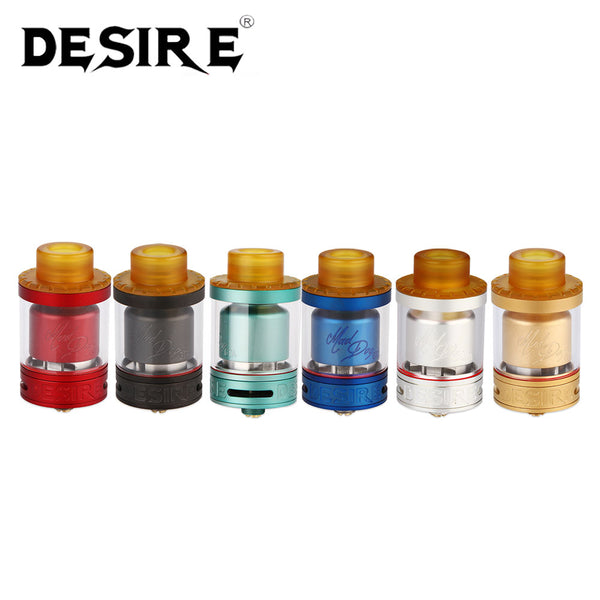 DESIRE - VAPE MAD DOG GTA TANK - THE VAPE SITE