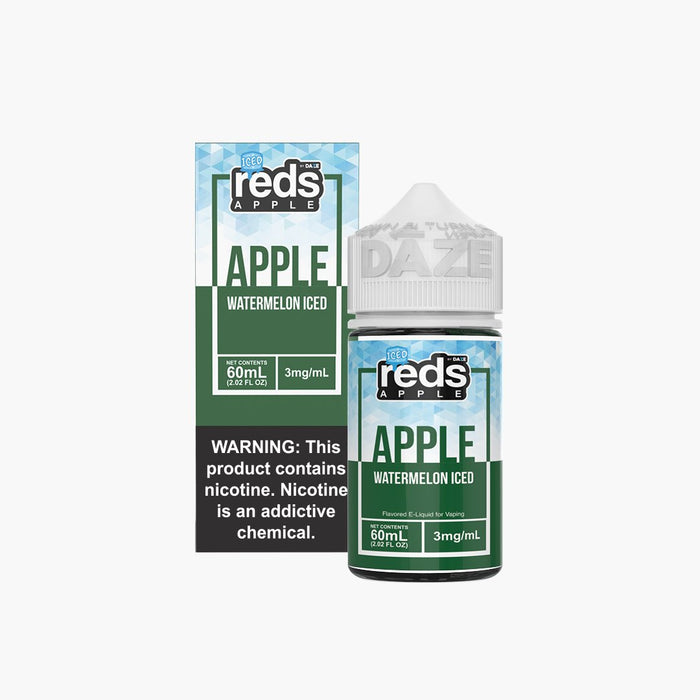 7 DAZE - ICED WATERMELON REDS APPLE E-JUICE 60ML