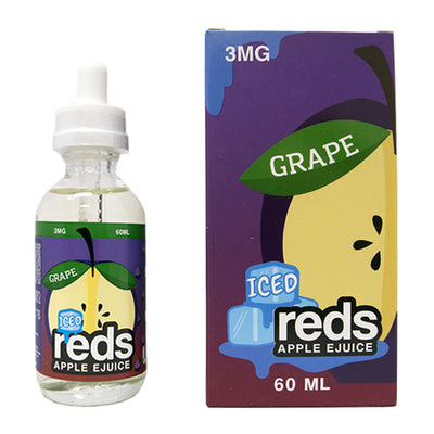 7 DAZE - ICED GRAPE REDS APPLE E-JUICE 60ML - THE VAPE SITE