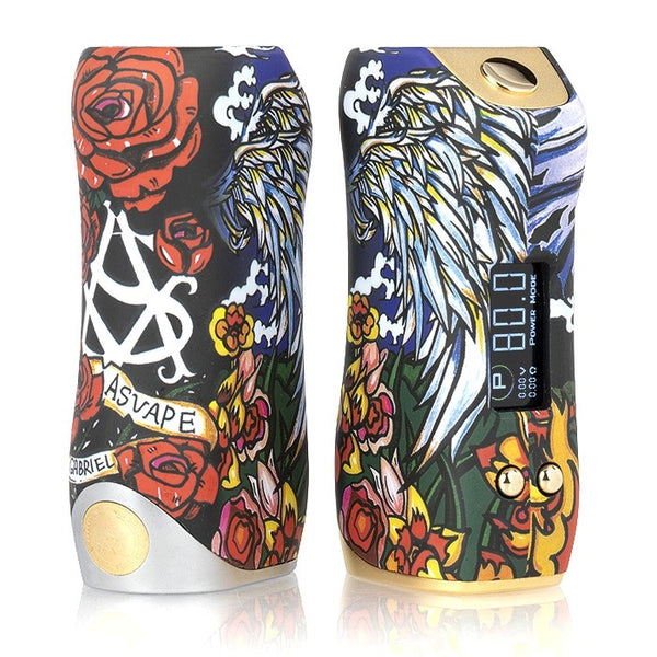 ASVAPE GABRIEL CHOICE 80W TC BOX MOD - THE VAPE SITE