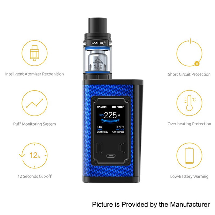 SMOK - MAJESTY 225W TC AND TFV8 X-BABY FULL KIT - THE VAPE SITE