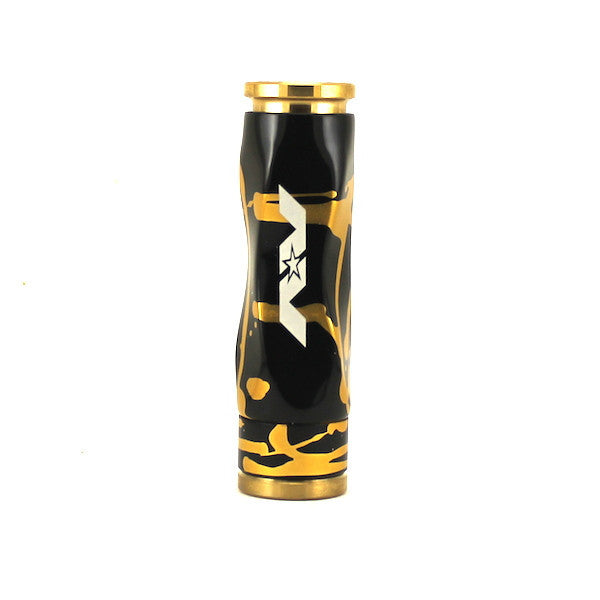 AVLD LYFE - GYRE MOD - SLOW TWIST BLACK GOLD - THE VAPE SITE