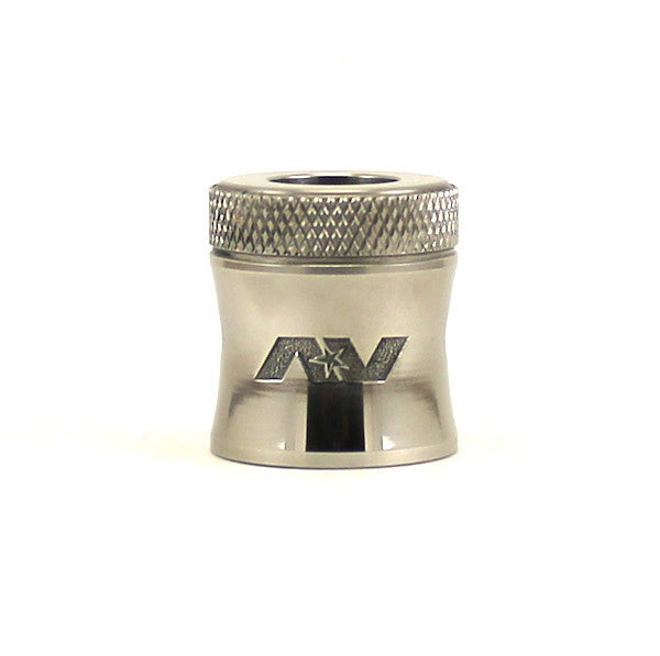 AVID LYFE - CAPTAIN CAP II - SS (STAINLESS STEEL) - THE VAPE SITE