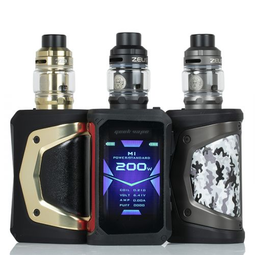 GEEK VAPE AEGIS X ZEUS 200W STARTER KIT - THE VAPE SITE