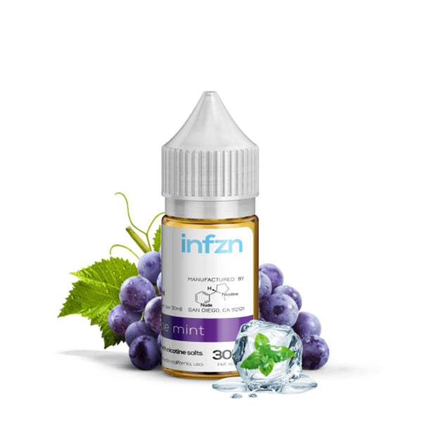 INFZN -  GRAPE MINT - THE VAPE SITE