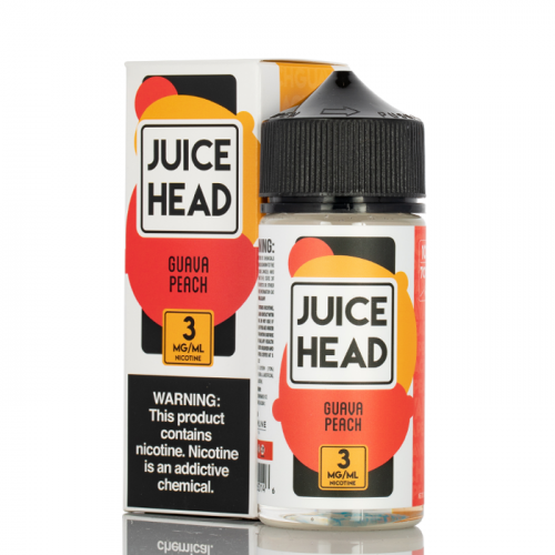 GUAVA PEACH - JUICE HEAD E-LIQUID - 100ML
