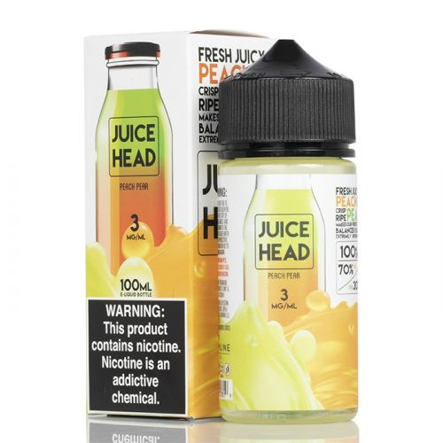 PEACH PEAR - JUICE HEAD E-LIQUID - 100ML