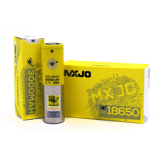 MXJO 18650 3000MAH 35A BATTERY - THE VAPE SITE