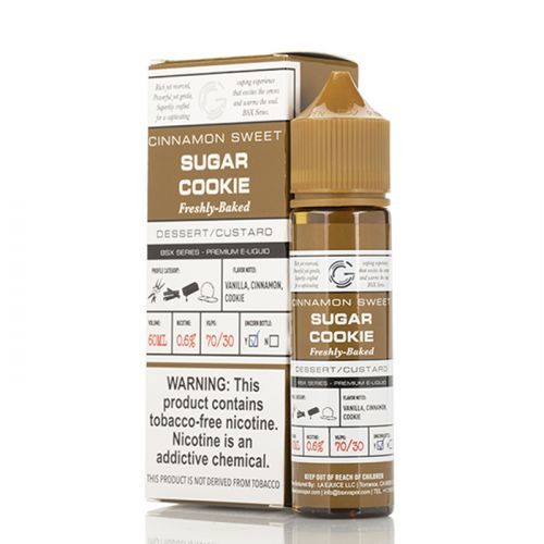 SUGAR COOKIES - BASIX SERIES - GLAS E-LIQUID - 60ML