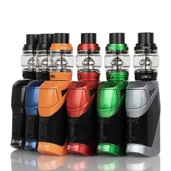 VAPTIO IRONCLAD 50W STARTER KIT - THE VAPE SITE