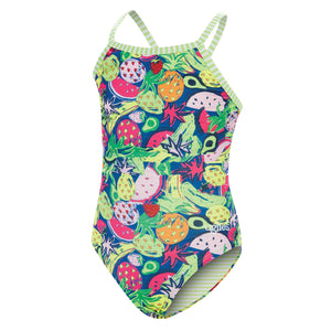 Dolfin Uglies Passion Fruit Girls Keyhole Back