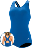 Dolfin Aquashape Conservative Lap Suit - Royal