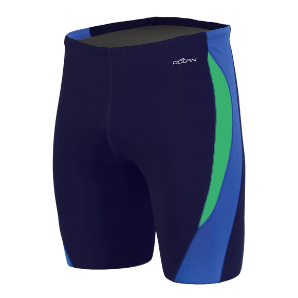 Dolfin Reliance Colorblock Navy/Blue/Green Jammer