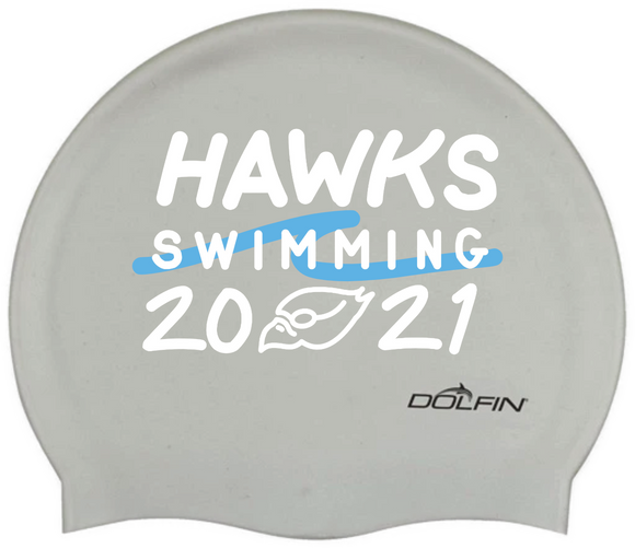 HAWKS Swimming 2021 Silicone Cap