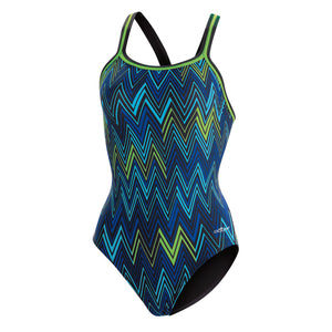 Dolfin PolyLite Chevron Blue/Green DBX Back