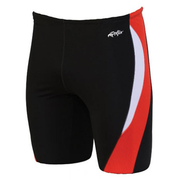 Dolfin Reliance Color Block Red Jammer