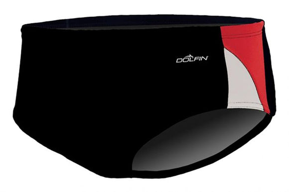 Dolfin Reliance Color Block Red Racer