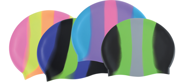 Dolfin Cap - Silicone Color Burst