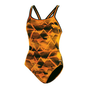 Dolfin Reliance Eclipse Orange DBX Back