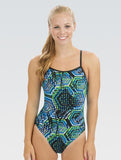 Dolfin Reliance Hive Blue/Green V Back
