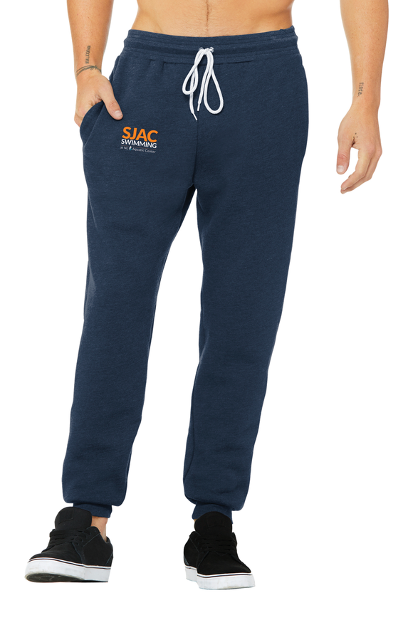 SJAC Heather Navy Unisex Jogger Sweatpants
