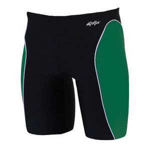 Dolfin XtraSleek Team Panel Black/Green/White Jammer