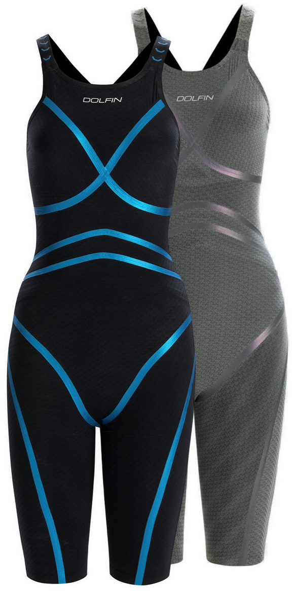 Dolfin LightStrike Knee Suit Open Back - Flex Leg