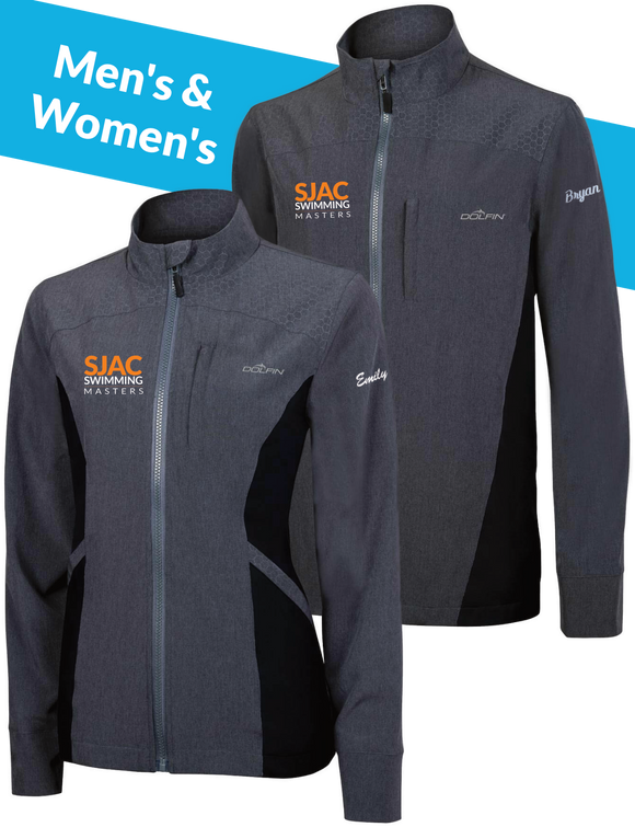 SJAC Masters Custom Personalized Warmup Jacket