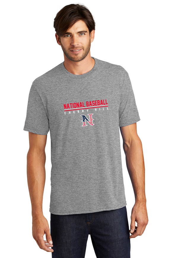 National Baseball Cherry Hill Tee - Grey Frost