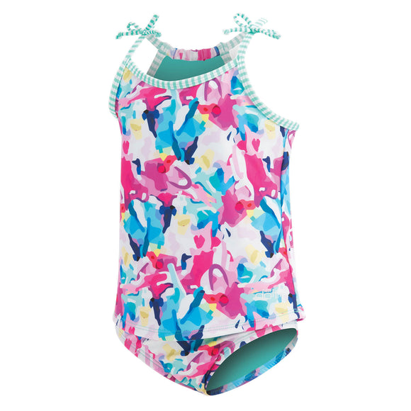 Little Dolfin Paint Party Tankini