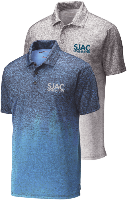 SJAC Ombré Heather Polo