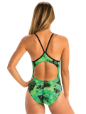 Dolfin Graphlite Rogue Green V Back