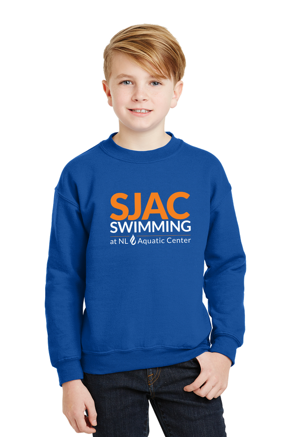SJAC Essentials - Youth Royal Crewneck Sweatshirt