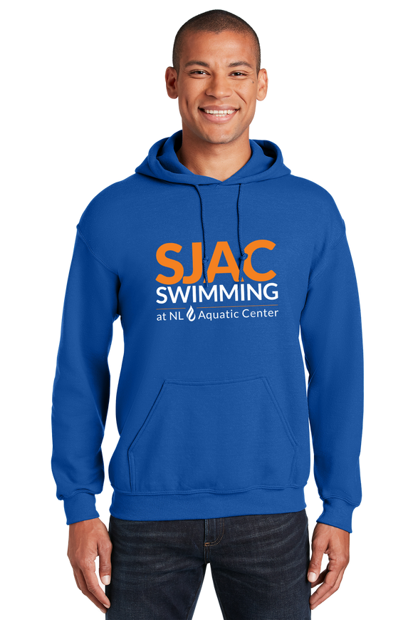 SJAC Essentials Royal Hooded Sweatshirt