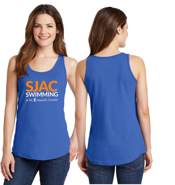 SJAC Essentials Royal Tank Top