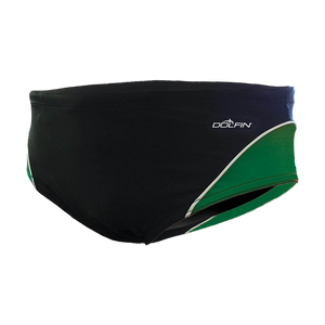 Dolfin XtraSleek Team Panel Black/Green/White Racer