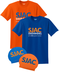 SJAC Team Tees and Latex Caps Bundle