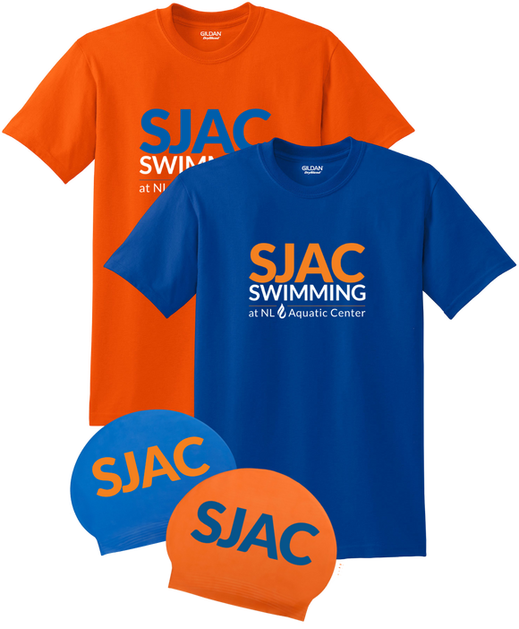 SJAC Team Tees and Caps Bundle