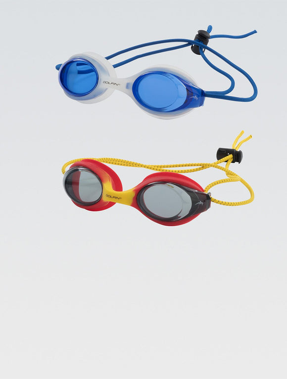 Dolfin Goggles - Bungee Racer 2 pack